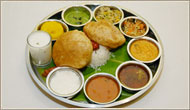 Pure Vegetarian Thali Delhi, Indian Pure Vegetarian Food